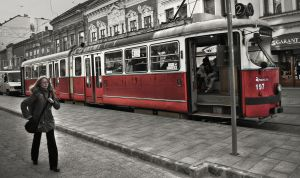 Miskolc city moment in HDR by dudykaa