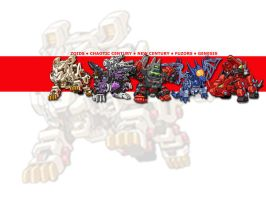 zoids wallpaper by IceMeteoR