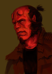 Hellboy by BalthazarDamassky