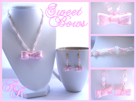 Sweet Lolita Bows by Cateaclysmic
