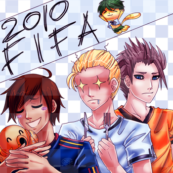 2010 World Cup by Seventii