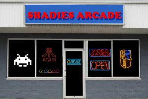 Shadies Arcade Storefront by MisterBill82