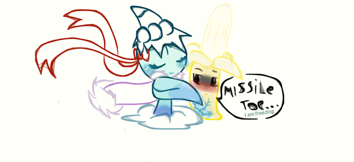 Missile toe X Banana Laucher by torielOutertale