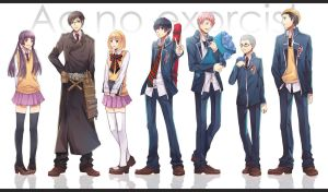 Ao No Exorcist Thank you by jaerika