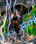 Storm cosplay costume for V4 and A4 by Terrymcg