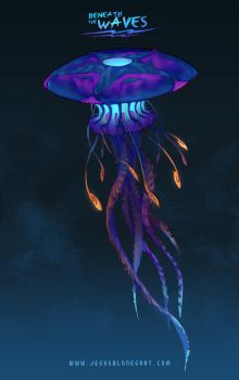 Jellyfish - Beneath the waves by ChuchuaN