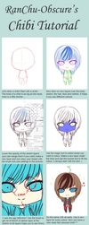 Chibi Tutorial + Hair Eyes Skin Colouring in SAI by RanChu-Obscure