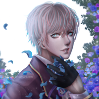 [Mystic Messenger ] Ray by Solchan