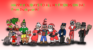 Happy Holidays To All by Duckyworth