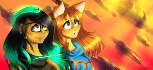 Sunset [Collab] by DiaziKoix