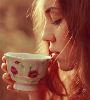 Morning coffee I by Anna-Belash