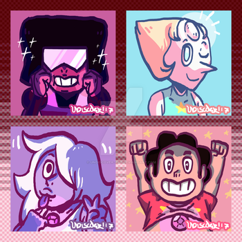 Lil CrystalGems by UNDISCOVER-art