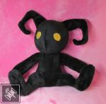 Heartless Plush by ThimblesThread