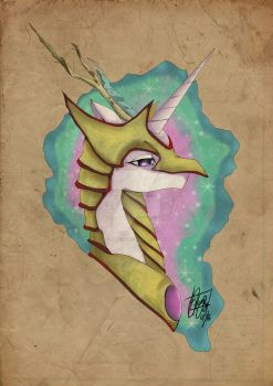 Celestia: For Equestria by Killerfishy