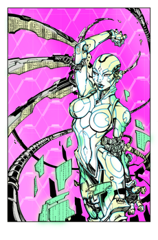Ultimate Visions  1 Cover Inks By Devgear-d59mhm1  by ThePhantomComics