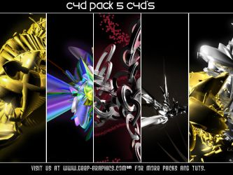 5 C4D Pack by madrockallelujah