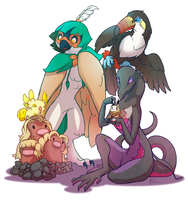 Pokemon Moon Team