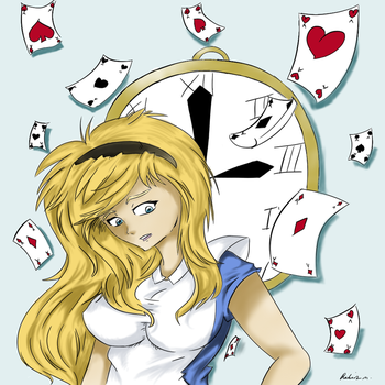 Alice in Wonderland by Janespear