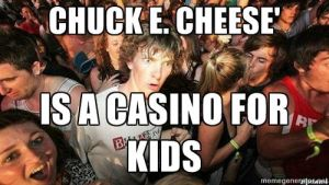 Sudden Clarity Clarence - Chuck E. Cheese' by hisarcher19