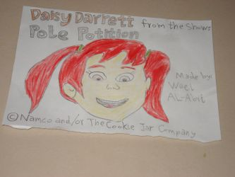 Daisy Darrett's head by Wael-sa
