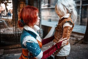 The Witcher - Triss and Cirilla by fenixfatalist