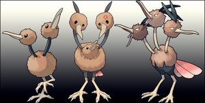 Doduo Dodrio Missing Link
