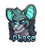 Con Badge for SnaggleFloof by GreyneArt