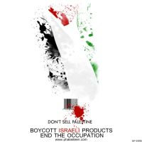 Boycott Israeli Products by Free-Palestine
