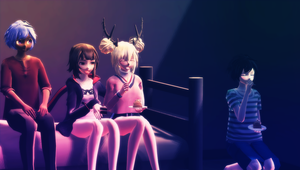 .:MMD x FRIENDS:. Happy Birthday, Venus!!! by venusy-cat