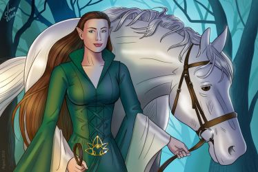 Arwen by JericaWinters