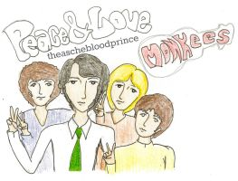 The Monkees Peace And Love by theaschebloodprince
