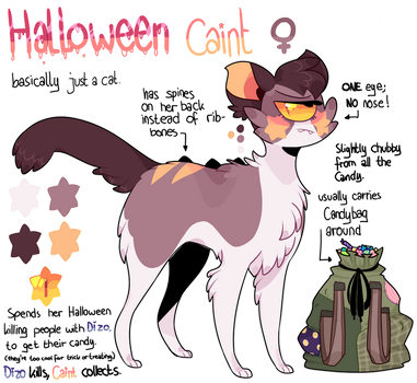 Halloween Caint Reference sheet by iyd