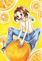 Yoh and orange fun by nanako87