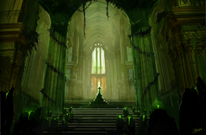 Cathedral Environment - last stand by undercoreart