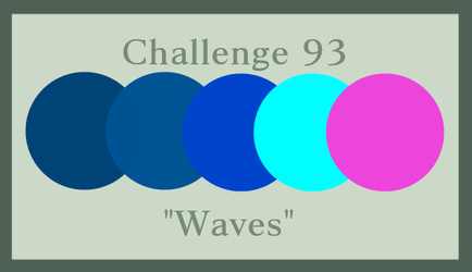 August Challenge #93: Waves by RedVioletPanda