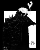 That cadaverous man by Solla-Damian