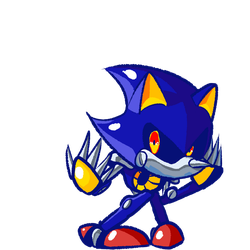 Metal Sonic by 4zumarill