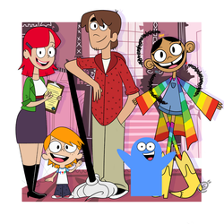 Fosters Home for Imaginary Friends 12 years later by E-T-U-L-F