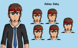 Adrian Daley by smilewolfy