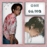 ONE (Jung Jaewon) PNG PACK #3 by taertificials