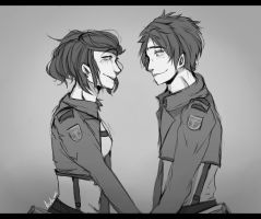 need name for this couple :sketch: by Izudraws