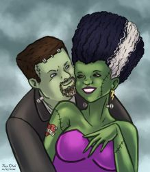 Natko's Monster and the Bride by Kittensoft