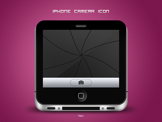 iPhone camera icon by TomasJanousek