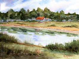 Refuge by SALTWatercolors