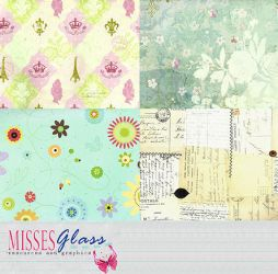 4 large scrapbook scans - S17 by Missesglass