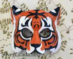 Tiger Leather Mask by SilverCicada