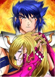 Ikki, tears of blood by RushBoy