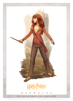 Day 1: Hermoine by Eddy-Swan-Art