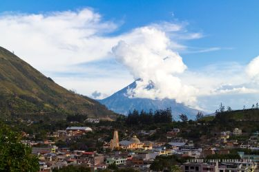 patate al pie del tungurahua by javoec
