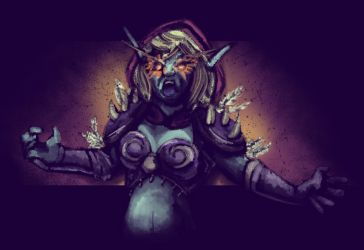 Sylvanas, Banshee Queen by Nine-Tailed-Fox